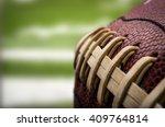 macro of a vintage worn... | Shutterstock . vector #409764814