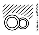 dishwasher safe symbol isolated ... | Shutterstock .eps vector #409765834