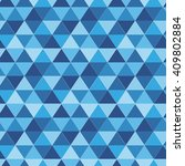 seamless pattern of equilateral ... | Shutterstock .eps vector #409802884
