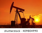 oil pump  oil industry equipment | Shutterstock . vector #409804990