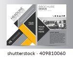 abstract flyer design... | Shutterstock .eps vector #409810060