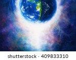 Planet Earth In Light  Cosmic...