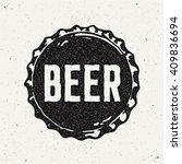 Vintage Style Craft Beer Sign....