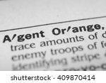Small photo of Agent Orange