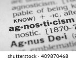 Small photo of Agnosticism