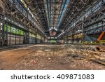 Large Abandoned Industrial Hall