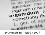 Small photo of Agendum