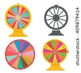 wheel of fortune | Shutterstock .eps vector #409879414