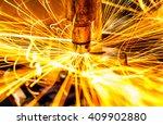 industrial welding automotive... | Shutterstock . vector #409902880