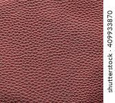 red leather texture closeup.can ... | Shutterstock . vector #409933870