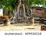 buddha statue in thailand | Shutterstock . vector #409934218