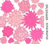 succulent garden dense... | Shutterstock .eps vector #409935760