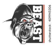 beast | Shutterstock .eps vector #409945306