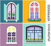 details   window set for... | Shutterstock .eps vector #409984000