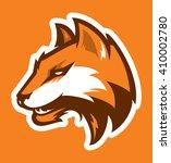 fox sport logo | Shutterstock .eps vector #410002780