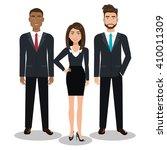 busines people design  | Shutterstock .eps vector #410011309