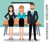 business training design    Shutterstock .eps vector #410011390