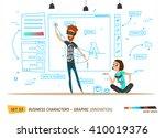 innovation business style.... | Shutterstock .eps vector #410019376