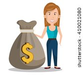money concept design | Shutterstock .eps vector #410021080