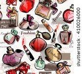 fashion seamless vector... | Shutterstock .eps vector #410026000