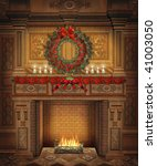 Fairytale Fireplace With...