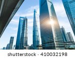 shanghai tower  world financial ... | Shutterstock . vector #410032198