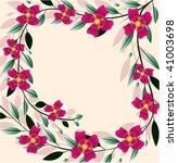 flowers in the vector graphics | Shutterstock .eps vector #41003698