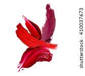 lipstick stroke background   Shutterstock . vector #410037673