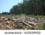 deforestation environmental... | Shutterstock . vector #410039920