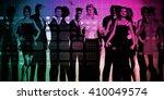 business people success... | Shutterstock . vector #410049574