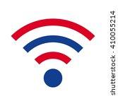 signal logo vector. | Shutterstock .eps vector #410055214