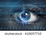 scanning for personality... | Shutterstock . vector #410057710