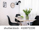 dining table in home interior | Shutterstock . vector #410072230