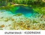 Beautiful Turquoise Spring Blu...