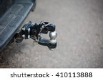 Car Tow Hitch Close Up