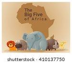 wild african animal background...