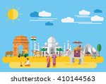 flat design  illustration of... | Shutterstock .eps vector #410144563