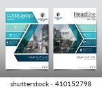 blue technology annual report...   Shutterstock .eps vector #410152798