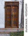 Traditional Wooden Ornate Door...