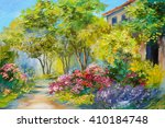 Oil Painting   House In The...