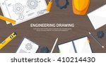engineering and architecture... | Shutterstock .eps vector #410214430