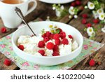 Fresh Cottage Cheese With Juic...