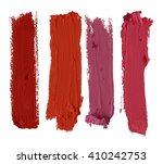 color lipstick stroke   Shutterstock . vector #410242753