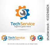 tech service logo template...