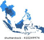 square shape south east asia...   Shutterstock .eps vector #410249974