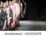 fashion show  a catwalk event ... | Shutterstock . vector #410254399