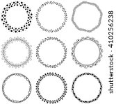 circle vector brushes | Shutterstock .eps vector #410256238
