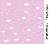 seamless pink hearts | Shutterstock .eps vector #410269060