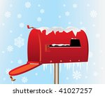 Merry Christmas Mail Box