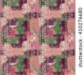 ethnic boho seamless pattern....   Shutterstock .eps vector #410276680